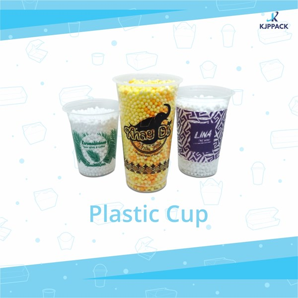 Thai tea cup plastic screen printing - plastic coffee cup and plastic juice cup