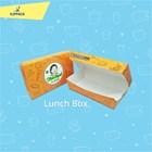 LUNCH BOX MEDIUM PRINT LOGO DESAIN FULL COLOR / KOTAK NASI ECO FRIENDLY 1