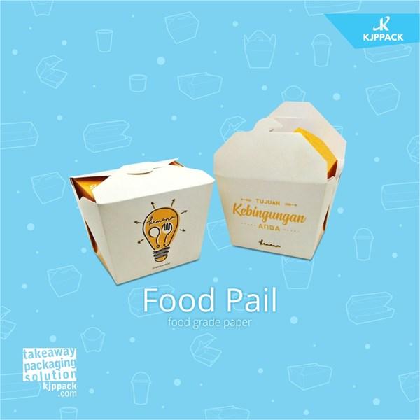 Cari Packaging Chinese Box / Food Pail / Rice Box Kemasan Packaging Unik Masa Kini