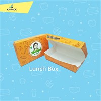 Cetak Kemasan Food Grade Paper Box Medium