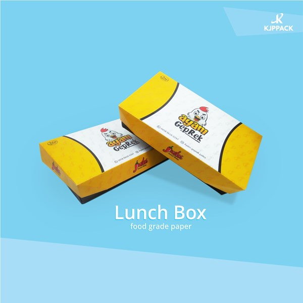 Cari Packaging Lunch Box Nasi dengan desain