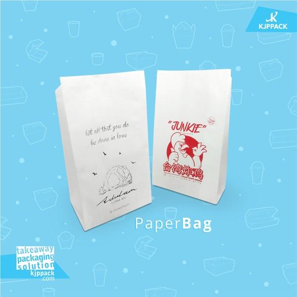 Kemasan PAPER BAG FOODGRADE untuk aneka snack