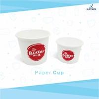 Ice cream cup ukuran 4 oz , 5 oz dan 10 oz bahan TERBAIK anti bocor