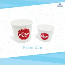 Paper cup for jasuke / ice cream packaging