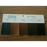 Denim PVC leather