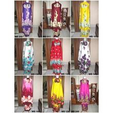 Balinese Muslim Prayer Garment - Flower Motifs