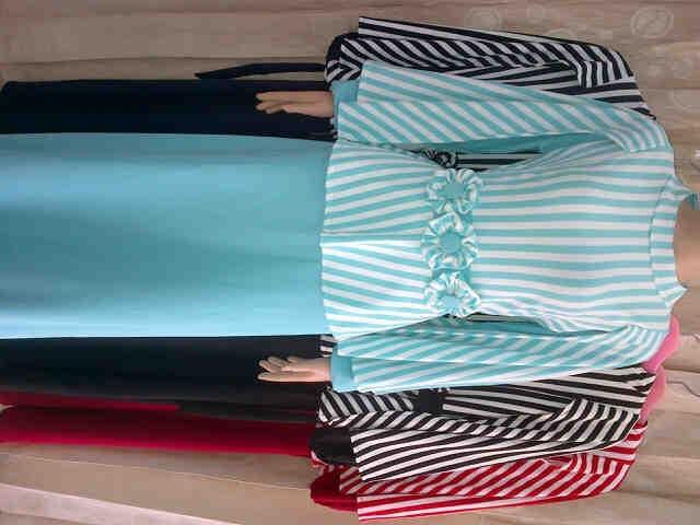 Jual Baju Gamis Nagita Bahan Wafer Import Kombinasi Jersey