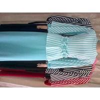 Jual Baju Gamis nagita bahan wafer import kombinasi jersey 3089