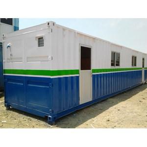 Dari Container Office Murah Portacamp 40' std Extra Toilet 1