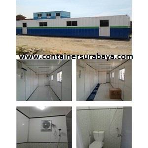 Dari Container Office Murah Portacamp 40' std Extra Toilet 0