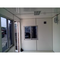 Beli Container Office Murah for Security Post extra Toilet 4