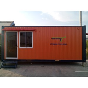 Dari Container Office Murah for Security Post extra Toilet 5