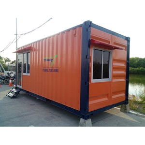 Dari Container Office Murah for Security Post extra Toilet 4
