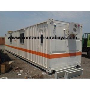 Container Office Murah dengan rangka Galvalum