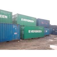 Jual Box Container Bekas 20' Murah ex Evergreen 2