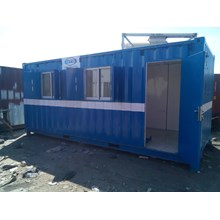 Box Container Office 20' Double Window