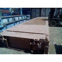 Box Container Flat Rack 40' STD 1