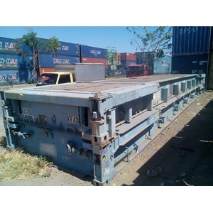 Box Container Flat Rack 40' STD