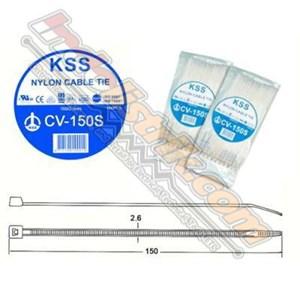 Dari Kss Kabel Ties Cv150s (150 X 2.5) Putih 0