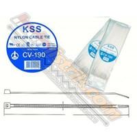 Kss Kabel Ties Cv190 (190 X 4.8) Putih  1