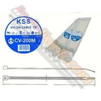 Cable Ties Kss Cv 200M (200 X 2.5) Putih 1