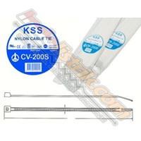 Kss Kabel Ties Cv200s (200 X 3.2) Putih 1