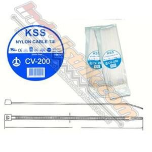 Dari Kss Kabel Ties Cv200 (200 X 4.6) Putih 0