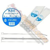 Kss Kabel Ties Cv250 (250 X 4.8) Putih 1
