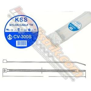 Kss Kabel Ties Cv300s (300 X 4.8) Putih