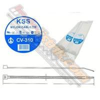 Kss Kabel Ties Cv310 (310 X 4.8) Putih 1