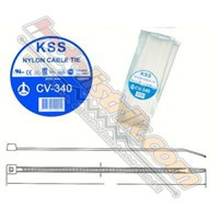 Kss Kabel Ties Cv340 (340 X 7.6) Putih 1