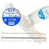 Kss Kabel Ties Cv368 (368 X 4.8) Putih 1