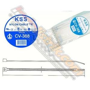 Dari Kss Kabel Ties Cv368 (368 X 4.8) Putih 0
