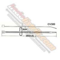Kss Kabel Ties Cv380 (380 X 7.6) Putih 1