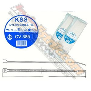 Cable Ties Kss Cv385 (385 X 4.8) Putih