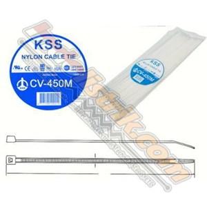 Cable Ties Kss Cv450m (450 X 4.8) Putih