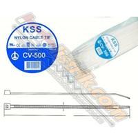 Cable Ties Kss Cv500 (500 X 4.8) Putih 1