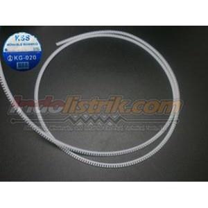 Kss Movable Bushing Kg-020 Putih Cable Marker