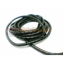Pelindung Kabel Spiral  Nintoku Ks-10 Hitam