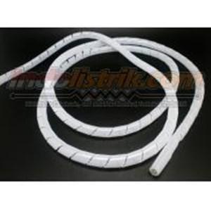 Pelindung Kabel Spiral  Nintoku Ks-19 Putih