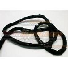 Pelindung Kabel Spiral Nintoku Ks-24 Hitam