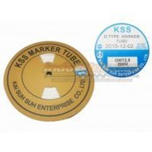 Kss Marker Tube Omt 2.5 200Mtr Per Roll Putih Cable Marker