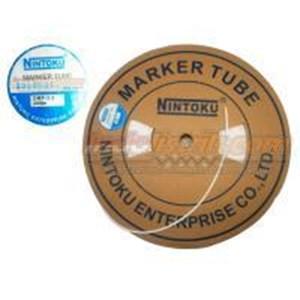 Nintoku Marker Tube Omt 3.2 200Mtr Per Roll Putih Cable Marker