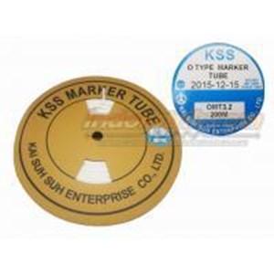 Kss Marker Tube Omt 3.2 200Mtr Per Roll Putih Cable Marker