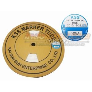 Kss Marker Tube Omt 3.5 200Mtr Per Roll Putih  Cable Marker