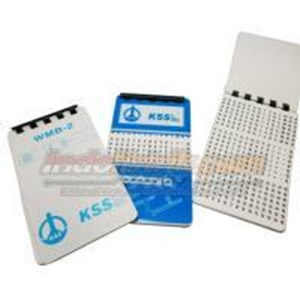 Kss Marker Book Wmb-2 Cable Marker