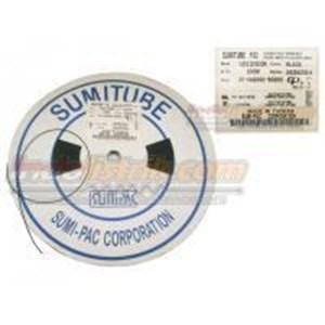 Sumitube Heatshrink Cable Low Voltage size 1 (lebar pipih 2.5mm)  Hitam Selongsong Kabel