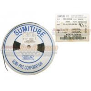 Sumitube Heatshrink Cable Low Voltage size 2.5 (Lebar pipih 5mm) Selongsong Kabel