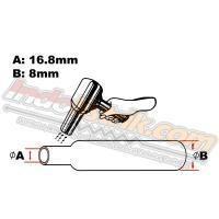 Sumitube Heatshrink Cable Low Voltage  size 16 (lebar pipih 26mm)  Selongsong Kabel 1