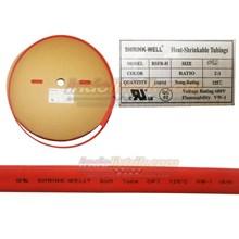 Shrink-Well Heatshrink Cable Low Voltage size 8 (Lebar  Pipih 14mm) Selongsong Kabel